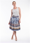 Orientique Skirt Reversible Cotton