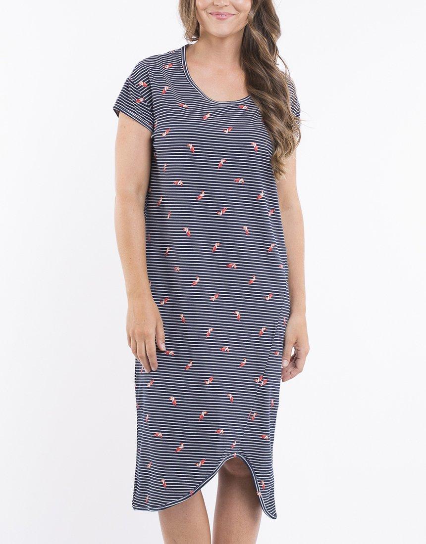 2695e64e60 Elm Dress Stripe Toucan - Women's Dresses | Yarntons | Free NZ ...