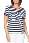 Threadz Tee Striped Umbrella Applique