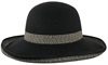 Claro Hat 2 Tone Up Brim Braid
