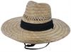 Claro Hat Rush Straw Black Band