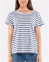 Elm Tee Twist Back Stripe