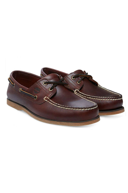 Timberland Mens Classic 2-Eye Boat Shoe