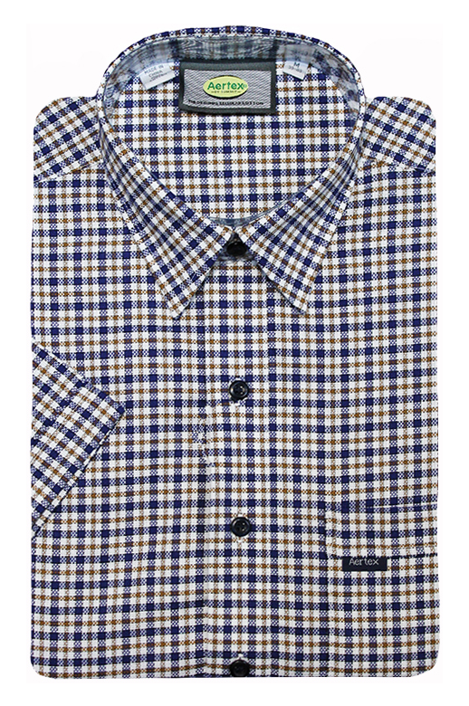 Aertex Polo Fine Check