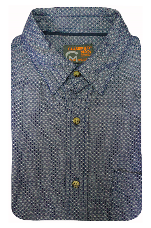 Classified Man Shirt S/S Jacquard