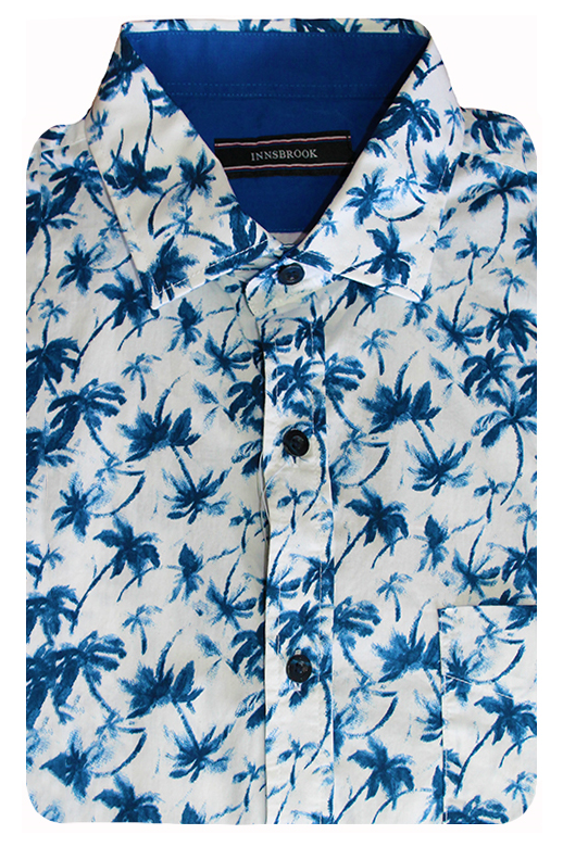 Innsbrook Shirt S/S Palm Print
