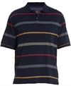 Classified Man Polo Stripe Chest Pocket