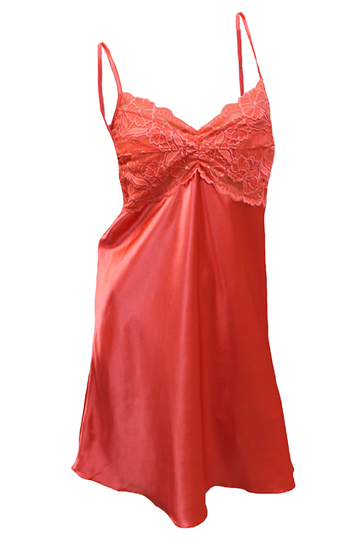 Essence Chemise Short With Lace