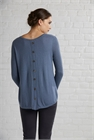Preen Knit Jumper Placket Back Contrast Sleeve