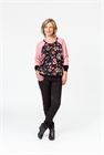 Democracy Top Raglan Sleeve Multi