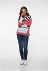 LD + Co Knit Cardi Multi Stripe