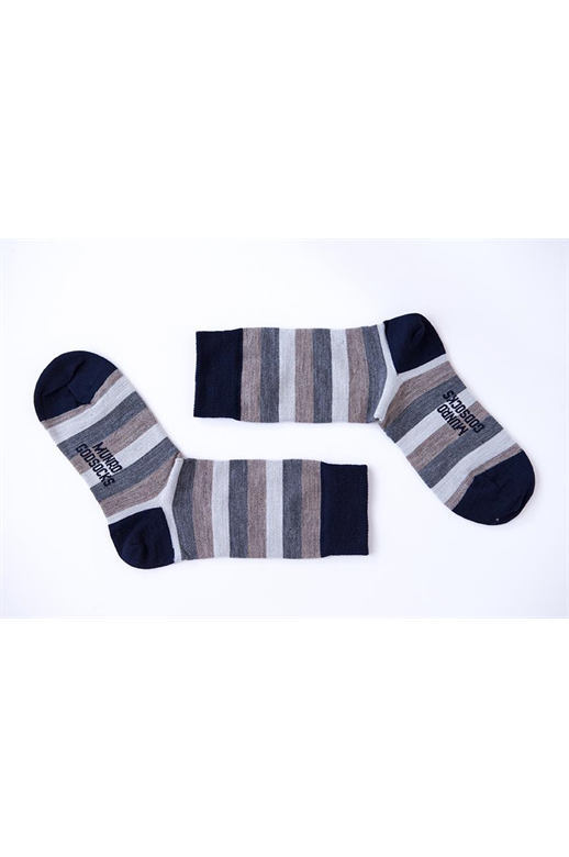 Munro God Socks Rio Navy