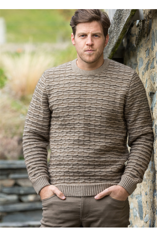 Noble Wilde Mens Ripple Sweater