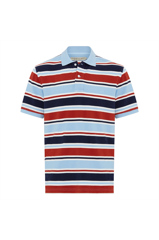 RMW Rod Polo Block Stripe