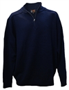 Classified Man Knit Zip Neck Merino
