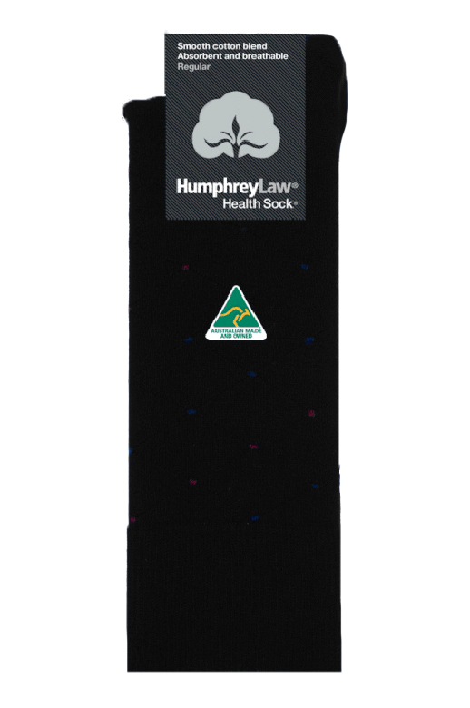 Humphrey Law Health Sock Cotton Patterned