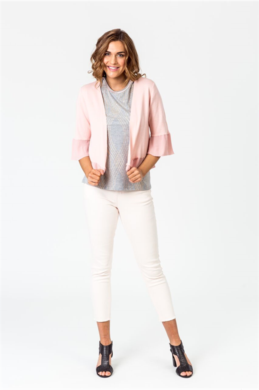 Classified Cardi Frill