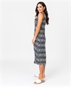 Democracy Dress S/L Print Geo