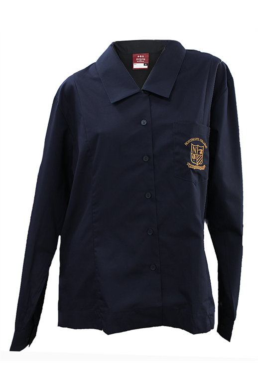 Northcote College L/S Tailored Shirt