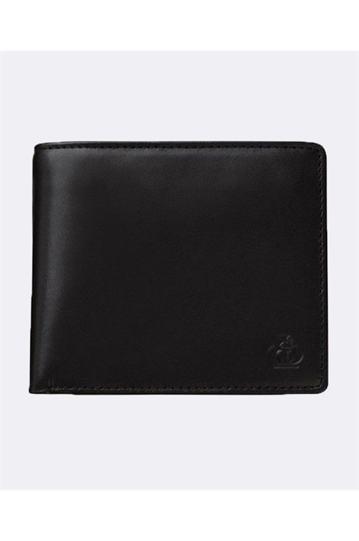 Jeff Banks Leather Wallet Coin Compartment